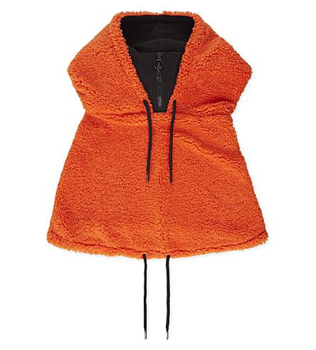 FENTY X PUMA Fenty Sherpa hood (Flame