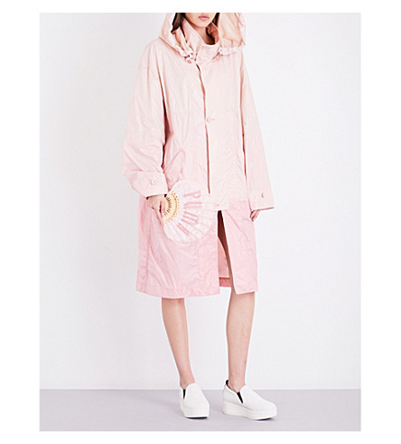 FENTY X PUMA Hooded shell jacket (Cameo+rose