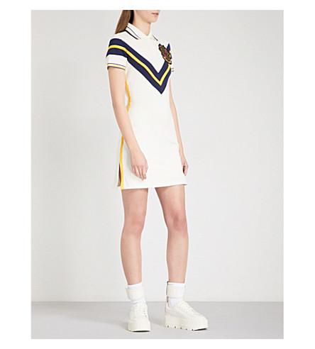 芬提 X PUMA 绣弹力何塞普·皮克网球礼服 (香草 + 冰