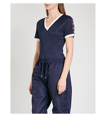 FENTY X PUMA Team number-print sports-jersey body (Evening+blue