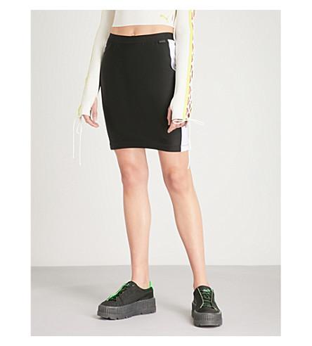 FENTY X PUMA Biker jersey skirt (Puma+black