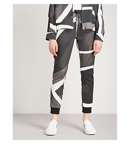 KOCHE Lamyland Paris Saint-Germain stretch-jersey jogging bottoms (Black/white