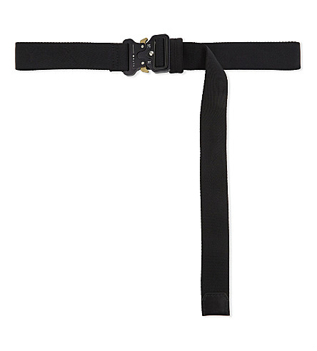 ALYX Rollercoaster buckle belt (001-black