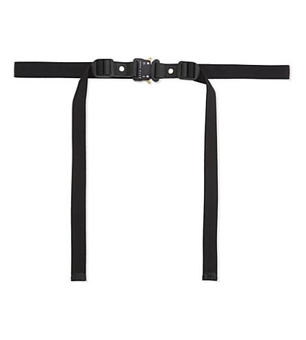 ALYX Mini stubai rollercoaster belt (001-black