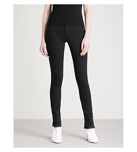 ALYX Slim-fit skinny high-rise jeans (Black