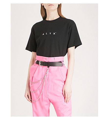 ALYX Logo-print cotton-jersey T-shirt (Black