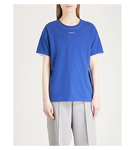 ALYX Reversible jersey T-shirt (Blue