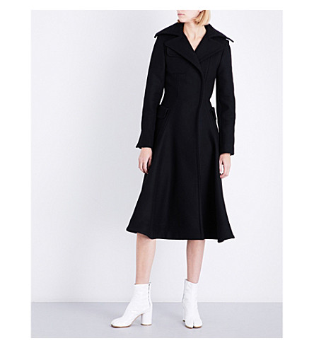 JACQUEMUS Le Manteau oversized wool coat (Black