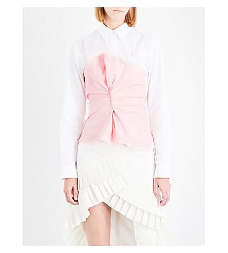 JACQUEMUS Le Haut Rose cotton top (Pink
