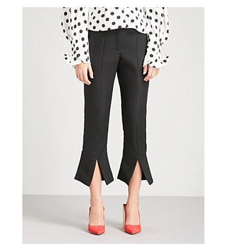 JACQUEMUS Corsaire stretch-wool trousers (Black