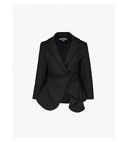 JACQUEMUS La Veste Saad wool jacket (Black