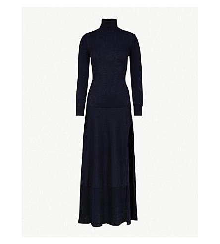 JACQUEMUS La Robe Baya stretch-cotton dress (Dark+navy