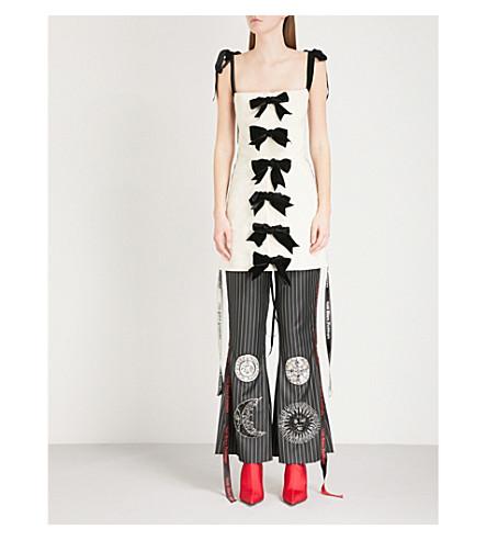 DILARA FINDIKOGLU Eve cotton corset (Cream