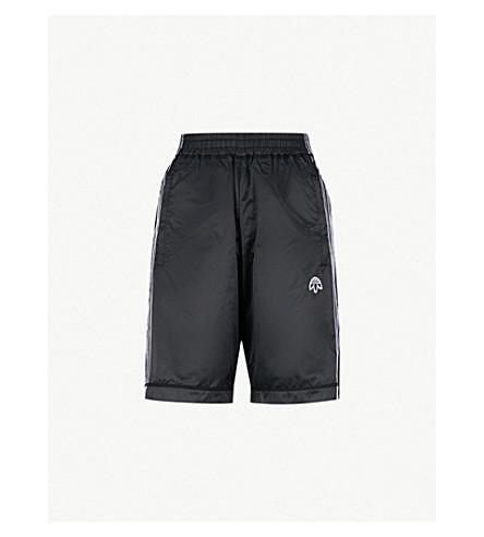 ADIDAS X ALEXANDER WANG Adibreak satin shorts (Black/+black