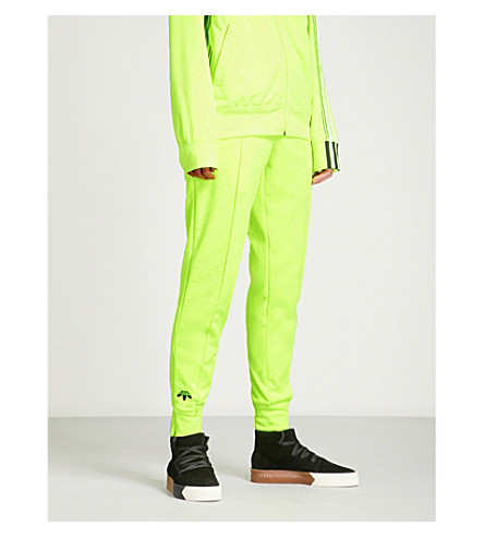 ADIDAS X ALEXANDER WANG Regular-fit jacquard jogging bottoms (Solar+yellow