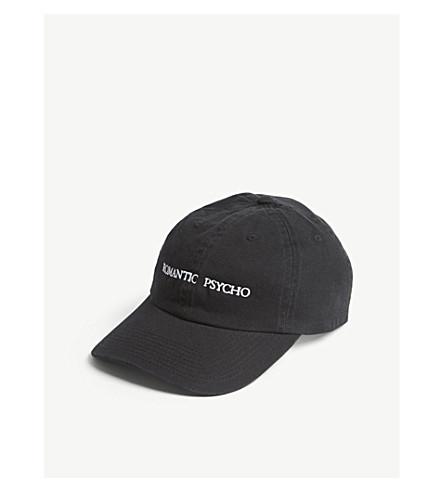 NASASEASONS Romantic Psycho embroidered baseball cap (Black