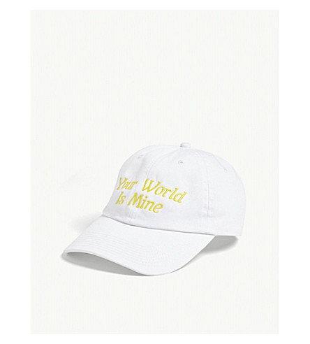 NASASEASONS Your world is mine cap (White