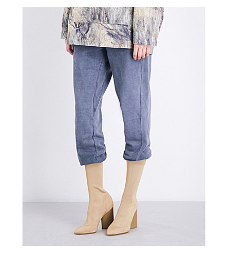 YEEZY Season 4 cotton-jersey track pants (Bat