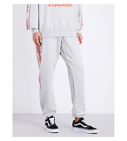 JUSTIN BIEBER Purpose the stadium tour jersey jogging bottoms (Grey