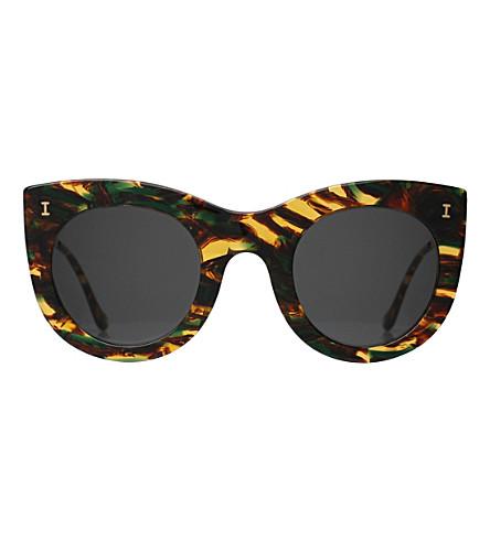 ILLESTEVA Boca II cat-eye sunglasses (Forest