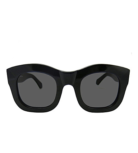 ILLESTEVA Hamilton acetate sunglasses (Black