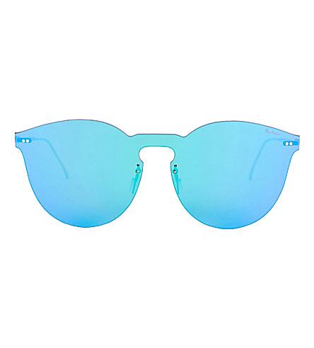 ILLESTEVA Leonard II Mask round sunglasses (Green