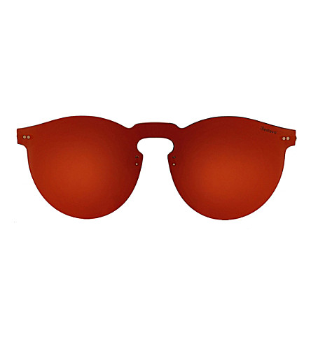 ILLESTEVA Leonard Mask round sunglasses (Red