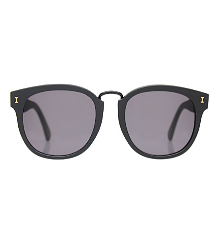 ILLESTEVA Sardinia round-frame sunglasses (Black