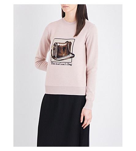 COACH Coach x Rodarte Archive wool jumper (Pink