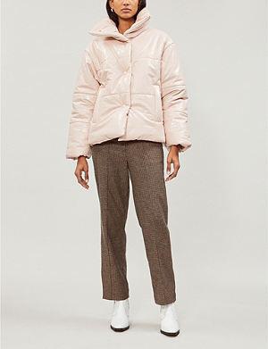 de28a2176074e NANUSHKA - Tara faux-leather flight jacket