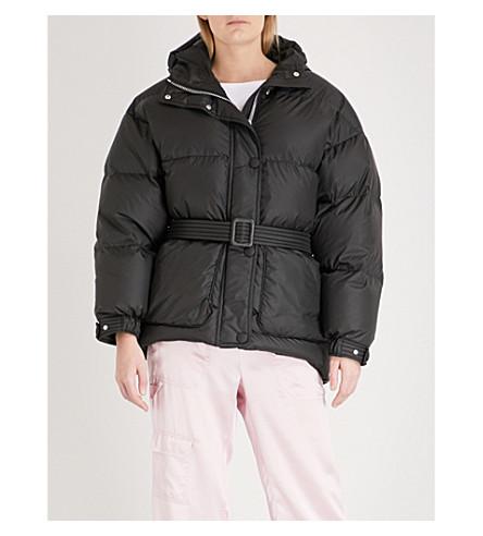 IENKI IENKI Michilin shell-down puffer coat (Black