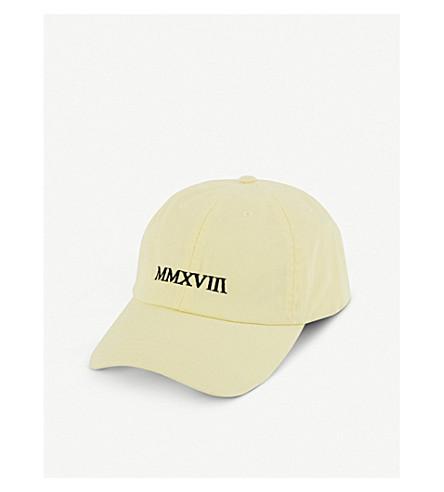 BLOUSE L'Annee MMXVII baseball cap (Lemon