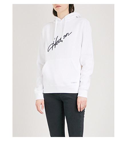 BLOUSE Heaven cotton-jersey hoody (White