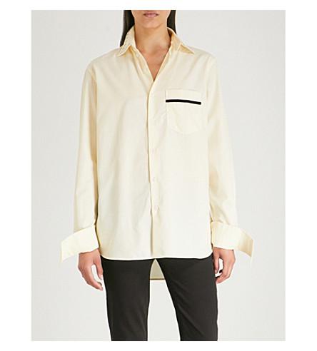Bobby BLOUSE Lemon Bobby cotton BLOUSE shirt q0ZfPE