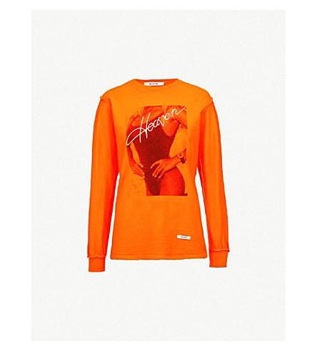 BLOUSE Heaven cotton-jersey T-shirt (Orange