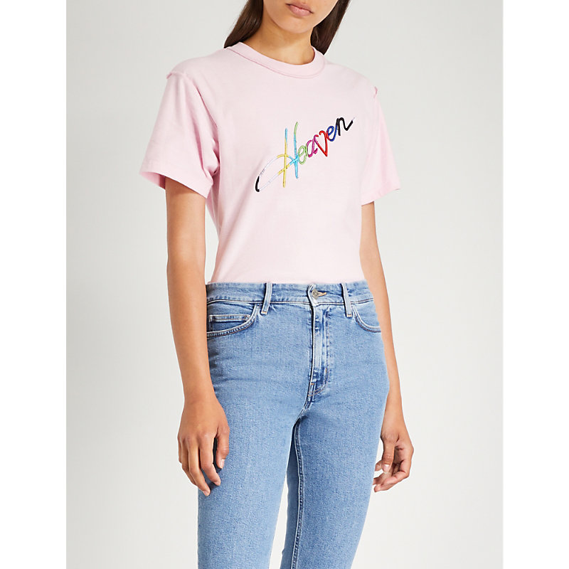 BLOUSE SLICE OF HEAVEN COTTON-JERSEY T-SHIRT