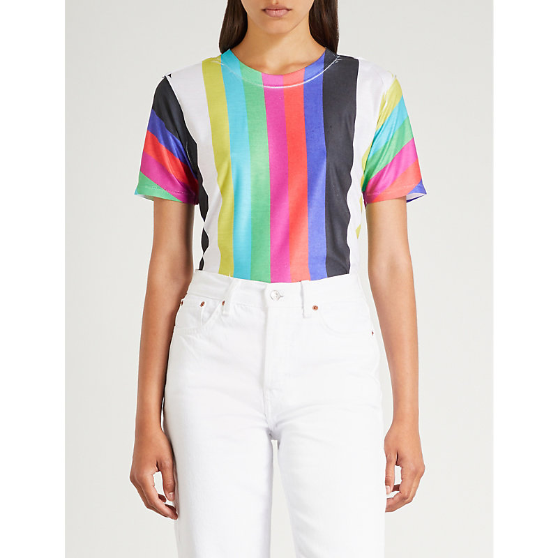 BLOUSE Allsorts cotton-jersey T-shirt