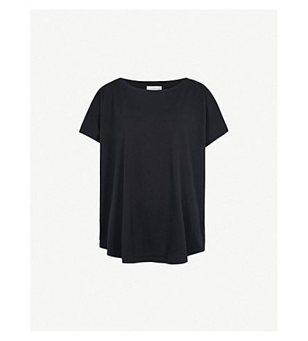 FAITH CONNEXION Dolman-sleeve cotton-jersey T-shirt (Black