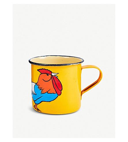 RAGYARD Rooster painted cup (Multi