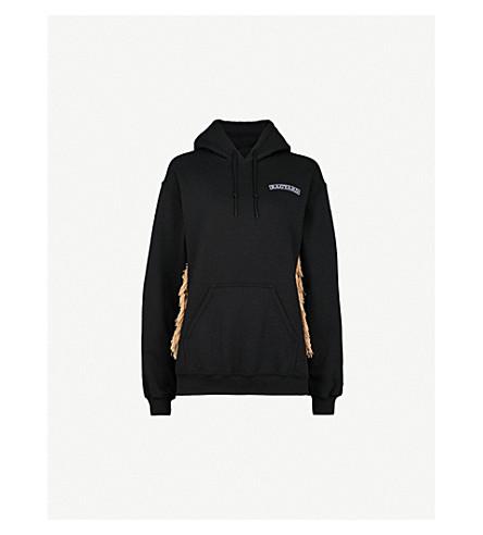 RAGYARD Dead Mex cotton-blend hoody (Black