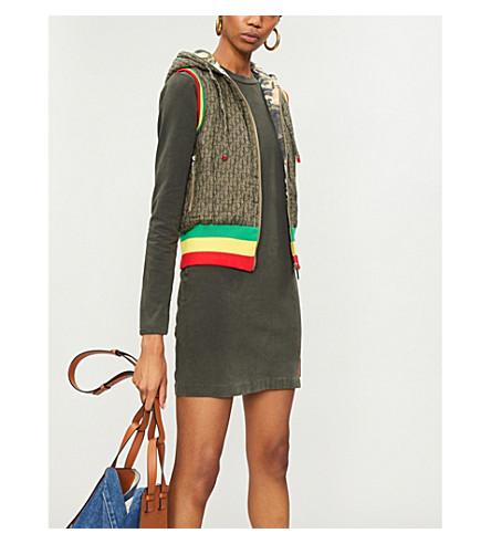 SEROTONIN VINTAGE Dior sleeveless cotton jacket (Grey