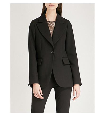 jacket Black MAISON Peak MM6 woven MARGIELA MM6 MAISON twill lapel UZzqx8