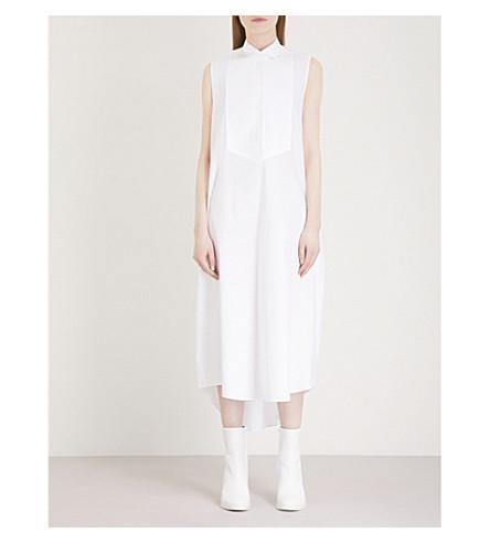 MM6 MAISON MARGIELA Parachute cotton-poplin dress (White