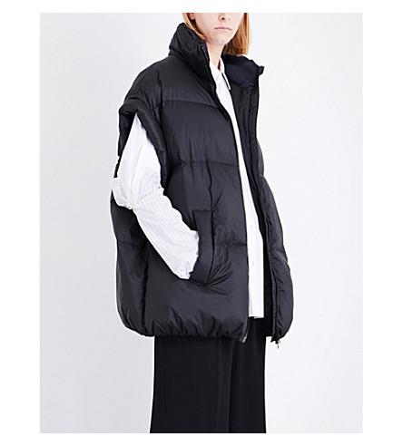 MAISON MARGIELA Padded shell jacket (Black