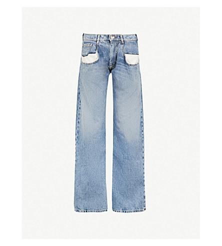 MAISON MARGIELA High-rise straight-leg jeans (Denim