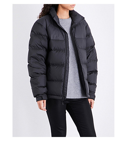 NORTH FACE 1992 Nuptse puffer down and feather jacket (Black