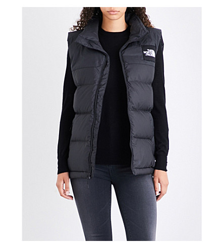 NORTH FACE Nuptse shell gilet (Black