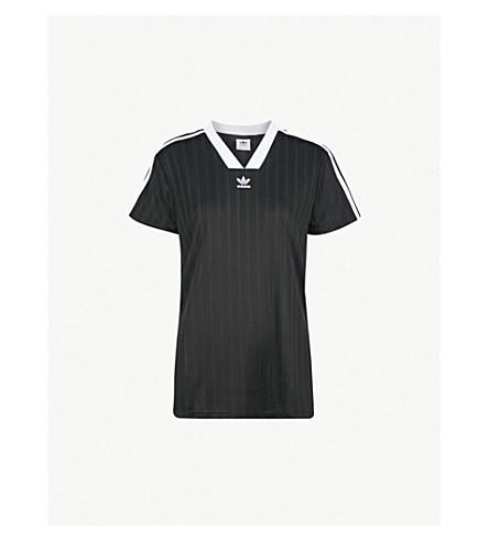 Adidas Originals Football Jersey Woven T Shirt Selfridges Com