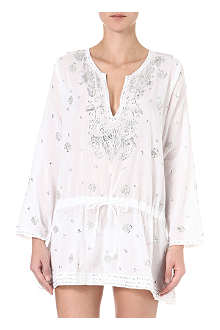 JULIET DUNN Sequined kaftan