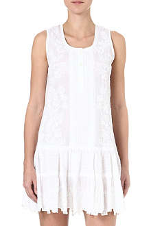 JULIET DUNN Cotton beach dress